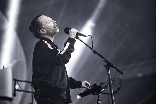 Thom Yorke, leader de Radiohead, dimanche 2 juillet à Arras.