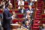 Edouard Philippe, premier ministre, prononce son discours de politique générale devant l'Assemblée nationale, à Paris, mardi 4 juillet.