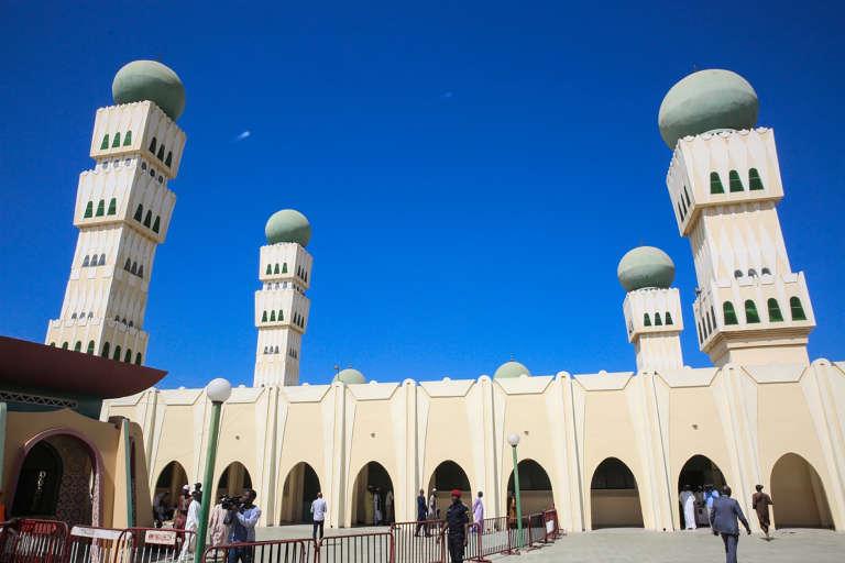 Moquée Omarienne à Dakar, au Sénégal, le 20 janvier 2017.