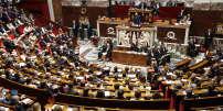 Discours de politique générale du premier ministre Edouard Philippe, à l'Assemblée nationale, à Paris, le mardi le 4 juillet.