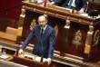 Le Premier Ministre Edouard Philippe prononce son discours de politique générale devant l'Assemblée Nationale le 04 juillet.