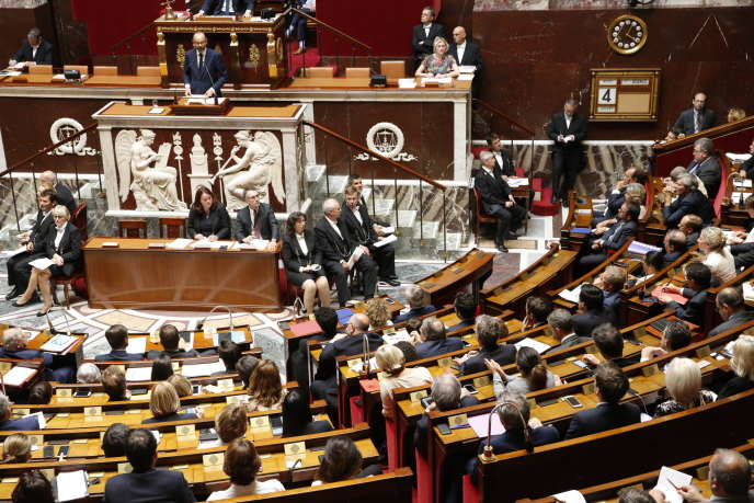 Discours de politique générale d'Edouard Philippe à l'Assemblée nationale le 4 juillet.