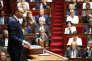 Le Premier Ministre Edouard Philippe prononce son discours de politique générale devant l'Assemblée nationale, le 04 juillet.