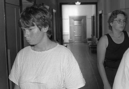 Une photo d'archive montrant Murielle Bolle, le 30 juin 1986.