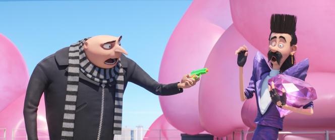 Balthazar Bratt, le méchant que devra affronter Gru dans le troisième volet de la série de films d'animation.