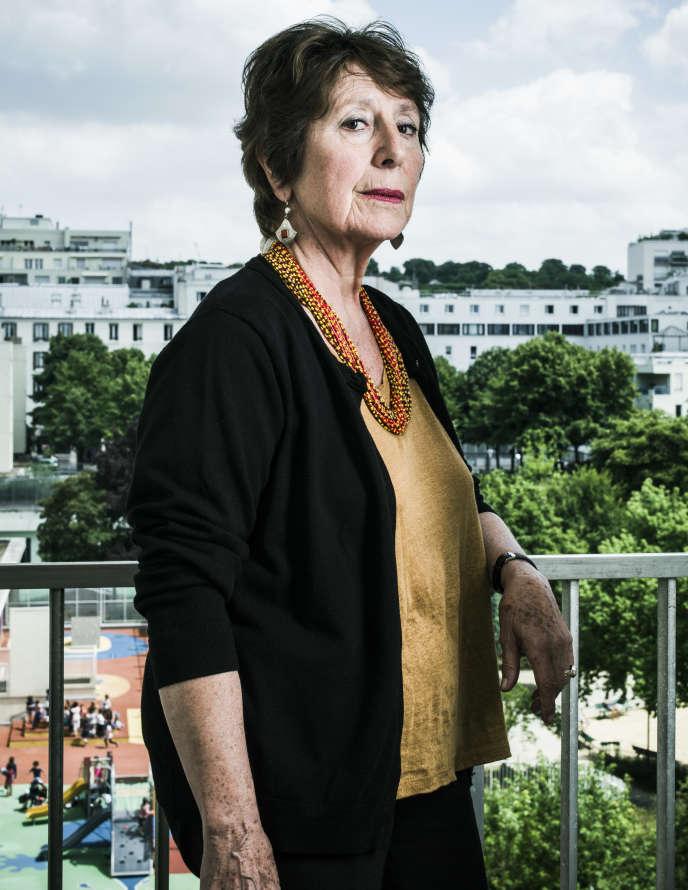 La philosophe Marie José Mondzain, 2017.