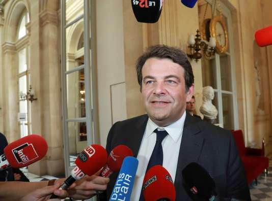 Thierry Solère à l'Assemblée nationale (Paris), le 4 juillet.