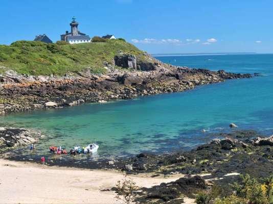 L'île de Chausey et ses plages sauvages.