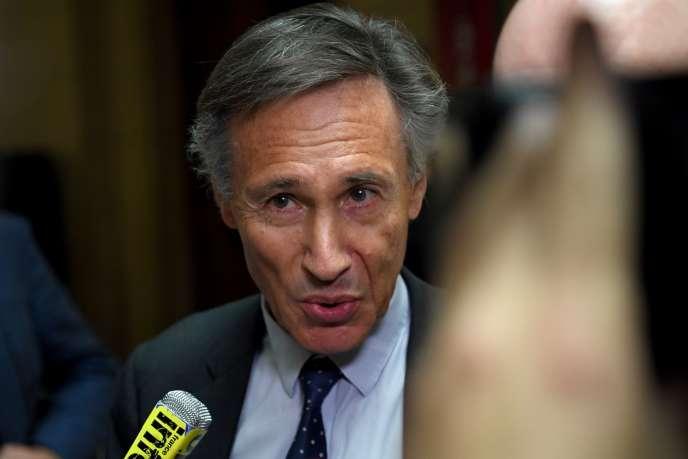Michel Aubier, en juin 2017, lors de son procès en première instance.