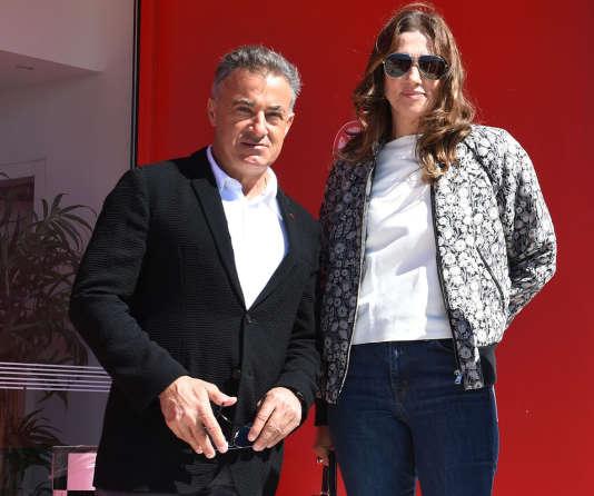 Jean Alesi, conseiller et ambassadeur du circuit du Castellet (Var) auprès de sa propriétaire, Slavica Ecclestone, ex-épouse de Bernie et amie du pilote de F1.