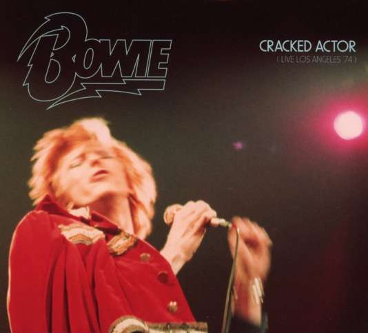 Pochette de l'album« Cracked Actor», de David Bowie.