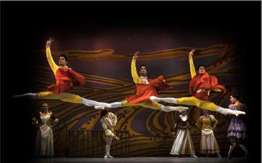 « Don Quichotte», par le Ballet national de Cuba.