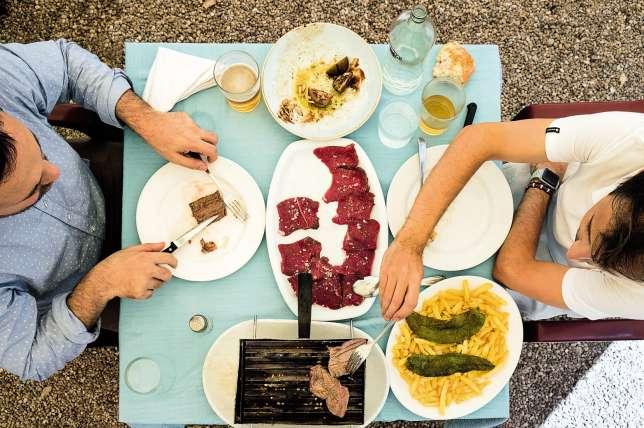 Gourmand et généreux, le déjeuner à l'Urogallo.