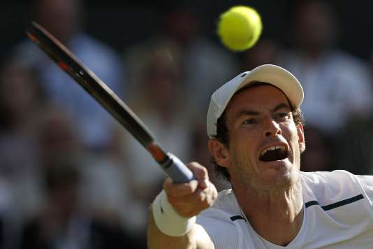 Andy Murray a battu Dustin Brown, mercredi 5 juillet.