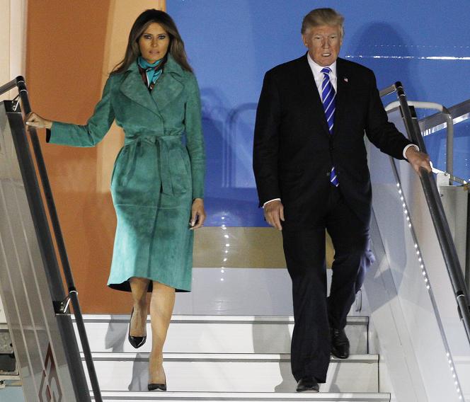 Avant le G20, le président américain effectue, jeudi 6 juillet, une visite en Pologne, l'un des rares pays de l'UE à lui être favorable.