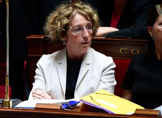 Muriel Pénicaud à l'Assemblée nationale, le 7 juillet.
