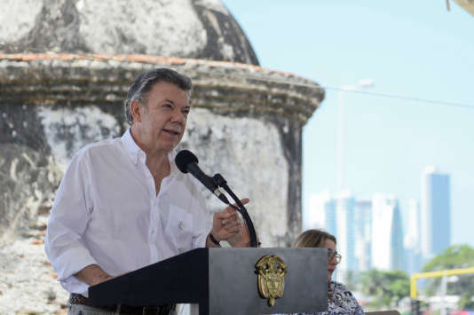 Juan Manuel Santos, le président colombien.