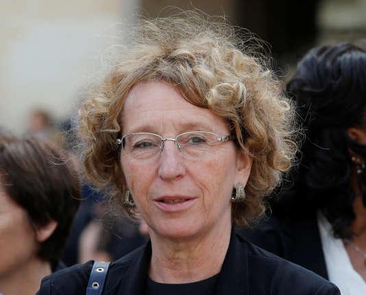 La ministre du travail, Muriel Pénicaud, à Paris, le 5juillet.