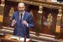 Edouard Philippe devant l'Assemblée nationale, à Paris, le 4 juillet.