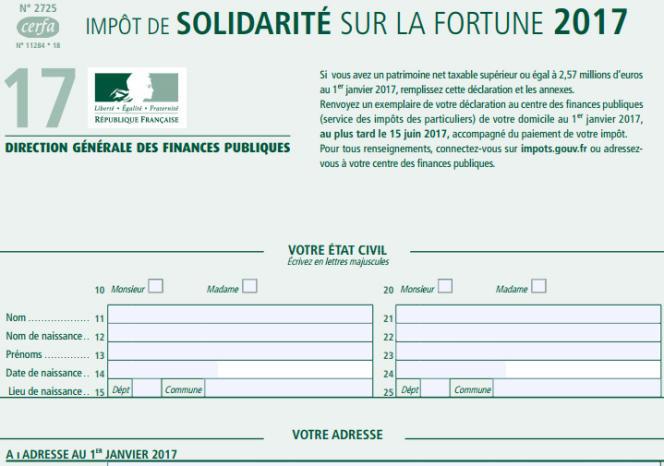 Une réforme de l'ISF devrait aboutir à l'instauration, en 2019, d'un IFI, impôt sur la fortune immobilière.