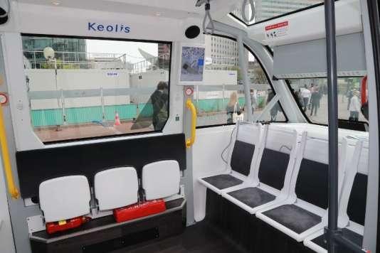 Keolis, filiale à 70 % de la SNCF, est spécialisée dans le transport public.