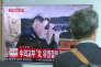 A Séoul, le 4 juillet, des bulletins d'information télévisés montrent le dirigeant nord-coréen, Kim Jong-un, après le tir par Pyongyang d'un missile intercontinental.
