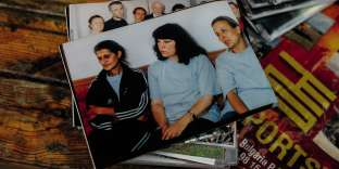 De gauche à droite, Snejana Dimitrova, Valia Cherveniashkaet Kristiyana Valcheva.La photo a été prise pendant leur détention.
