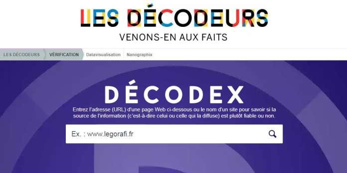 7e6d76f07edb L annuaire des fausses informations du Décodex