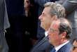 François Hollande et Nicolas Sarkozy le 5juillet.