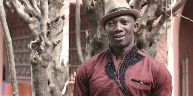 Le danseur chorégraphe burkinabé Serge Aimé Coulibaly.