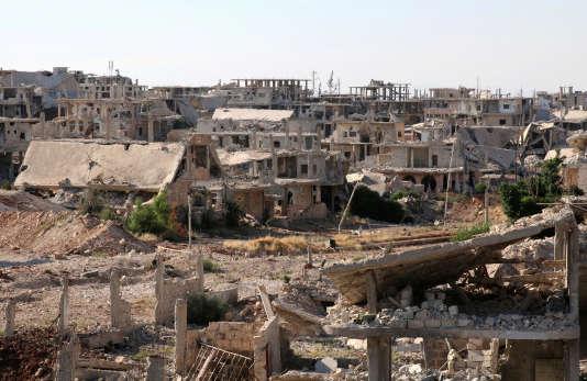 A Deraa, dans le sud de la Syrie, le 22 juin.