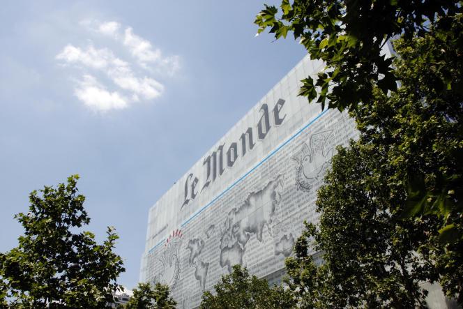 Siège du «Monde» dans le 13e arrondissement de Paris.