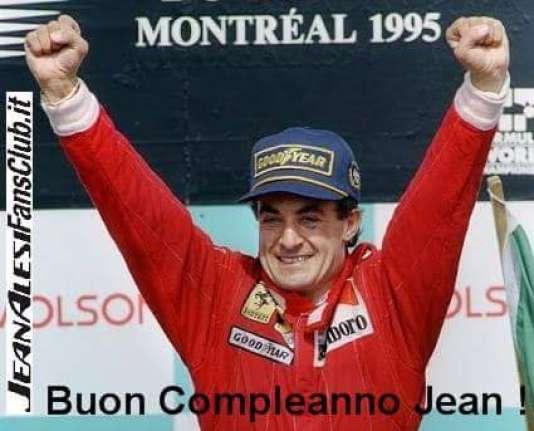 Le compte Twitter du fan-club officiel de Jean Alesi immortalise l'unique victoire en Grand Prix du 11juin 1995, au Canada.