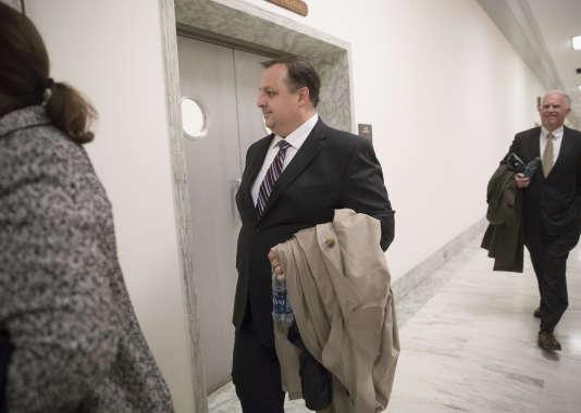 Walter Shaub à Washington, le 23 janvier.
