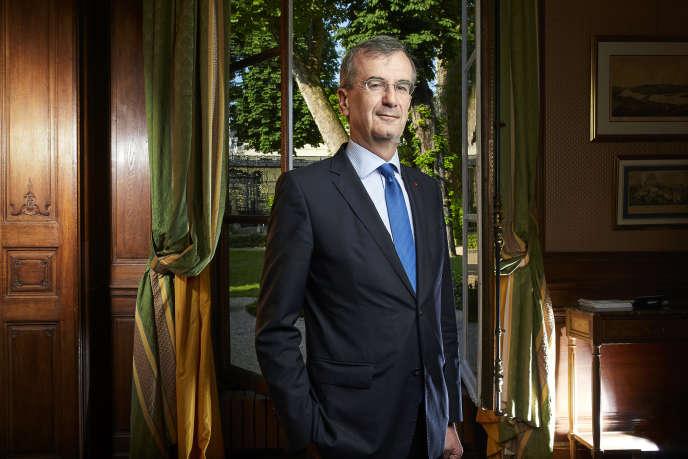 Francois Villeroy de Galhau, Gouverneur de la Banque de France à la Maison de l'Amérique Latine à Paris