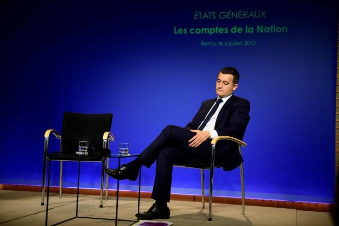 Le ministre de l'action et des comptes publics Gérald Darmanin, le 6 juillet à Paris.