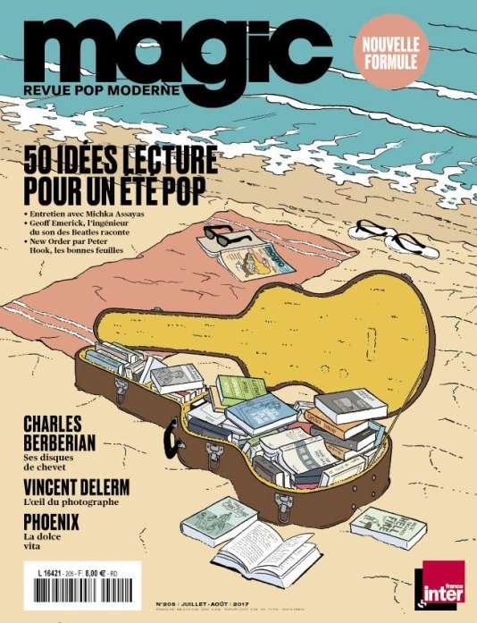 Le magazine« Magic», numéro spécial« 50 idées de lectures pour un été pop ».