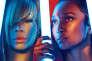 Les Américaines T-Boz et Chilli du duo TLC.