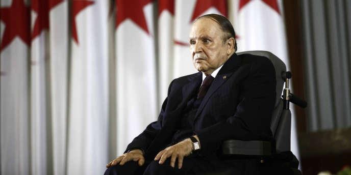 Le président algérien Abdelaziz Bouteflika, à Alger, le 28 avril 2014.