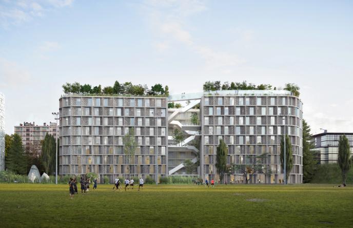 Le projet architectural retenu pour la construction d'une nouvelle maison « Fondation de Chine » au sein de la Cité internationale universitaire de Paris (CIUP). Il a été rendu public, vendredi 7 juillet. La CIUP n'avait pas accueilli de nouvelle maison depuis 1969.
