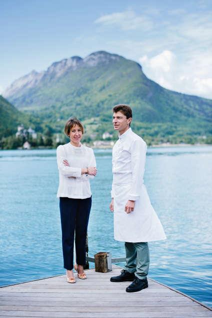 Jean Sulpice et son épouse Magali proposent une cuisine limpide.