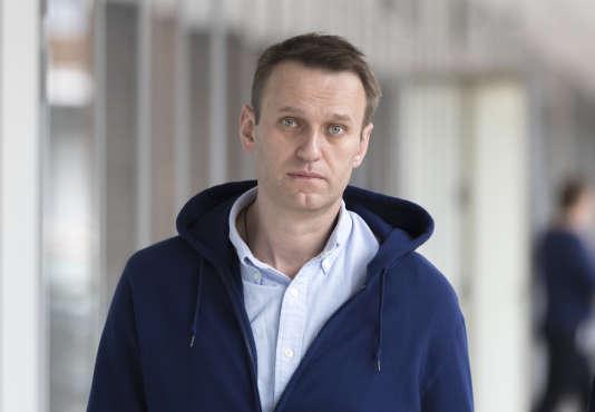Alexeï Navalny, à Moscou, le 7 juillet.