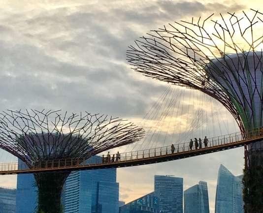Le Jardin de la Baie à Singapour.