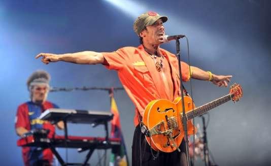 Le chanteur français Manu Chao fait partie des têtes d'affiche du festival El Clandestino, prévu les 15 et 16 juillet , près de Guéret dans la Creuse.