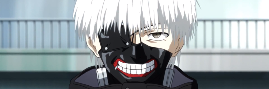 « Tokyo Ghoul» met en scène un jeune homme qui se transforme en hybride homme-goule.