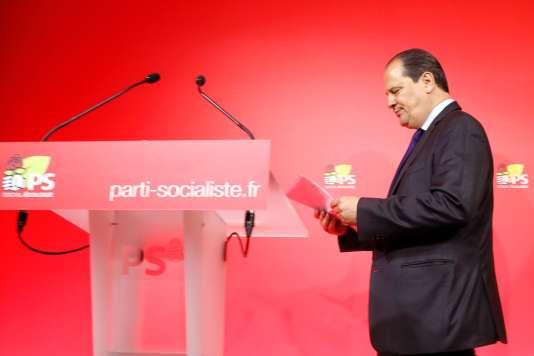 «Il faut laisser la place à une nouvelle génération» (Photo: le premier secrétaire démissionnaire du PS à Paris, le 18 juin).