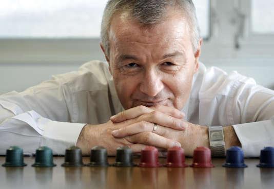 Jean-Paul Gaillard, le fondateur de Ethical Coffee Company (ECC), à Chambéry, le 7 mai 2010.