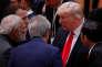 «Il y a une avancée sur le terrorisme et le recul a été évité sur beaucoup de sujets», a résumé M.Macron (Photo: Emmanuel Macron, Narendra Modi, Donald Trump et Joko Widodo le 8 juillet, duran,t le G20).