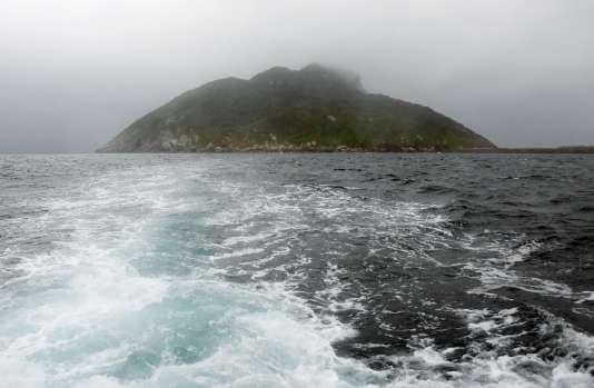 L'île d'Okinoshima a été inscriteau Patrimoine mondial de l'humanité de l'Unesco.