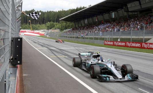 Valtteri Bottas a remporté en Autriche le second Grand Prix de sa carrière.